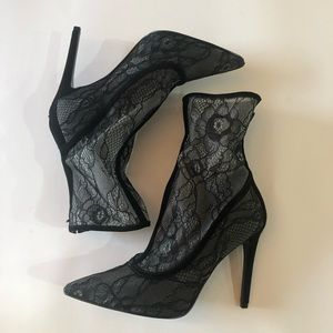 Kendall & Kylie Lace Booties